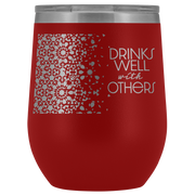 Well With Others Tumbler | Red | Wine Tumbler | JacksonsRunaway