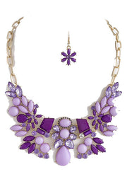 Abundant Elegance Statement Necklace