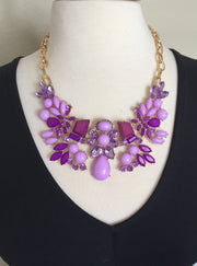 Abundant Elegance Statement Necklace |  | Necklace | JacksonsRunaway