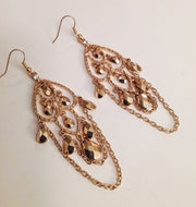 Chain Chandelier Earrings