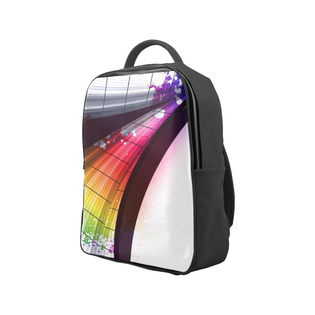 Abstract Faux Leather Backpack Bag |  | Popular Backpack (1622) | JacksonsRunaway