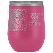 Well With Others Tumbler | Pink | Wine Tumbler | JacksonsRunaway