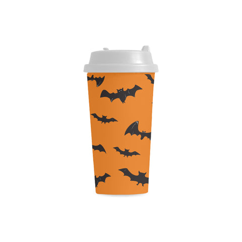 Bat Double Wall Plastic Mug