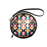 Ikat Dreams Circle Clutch