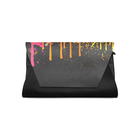Splatter Clutch Bag