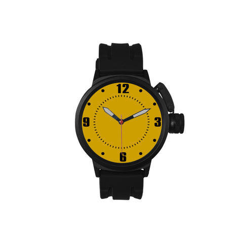 Yellow Men's Sports Watch