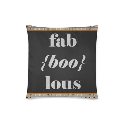 FabBOOLous Pillow Case