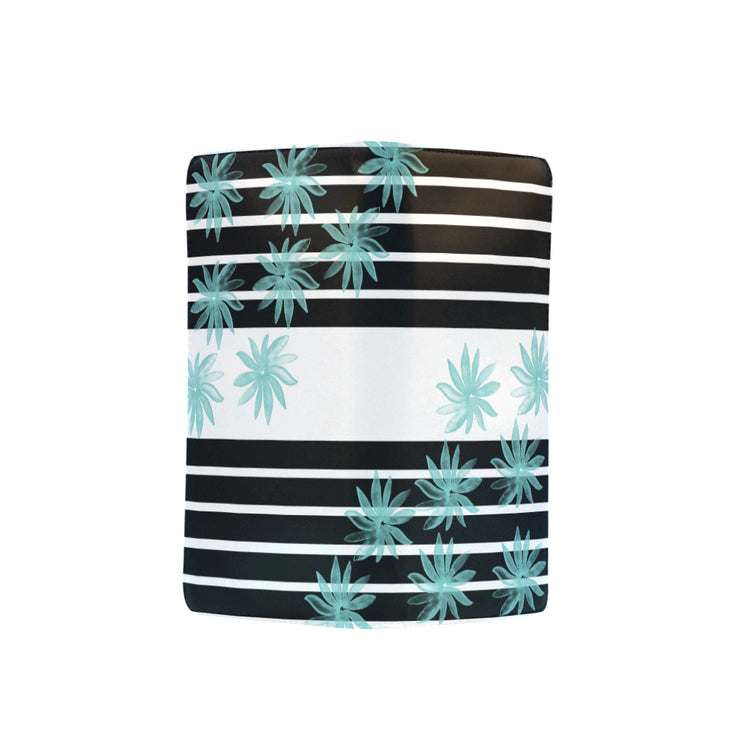 Stripes & Flowers Women's Clutch