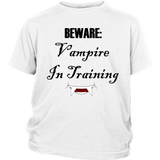 Vampire In Training Youth Shirt