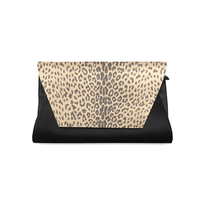 Essential Leopard Clutch Bag
