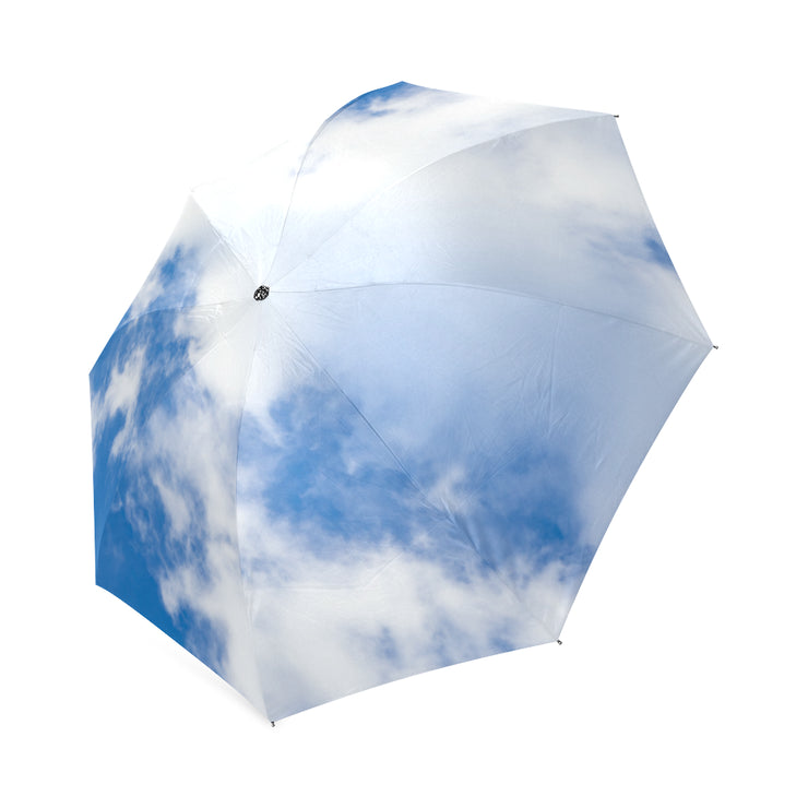 Up In Clouds Foldable Umbrella |  | Accessories | JacksonsRunaway