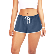 Blue Women's Relaxed Shorts | XXL / Blue | Activewear | JacksonsRunaway