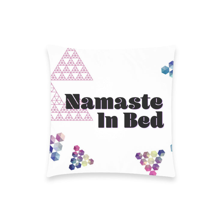 "Namaste Pillow Case 18""x18"""