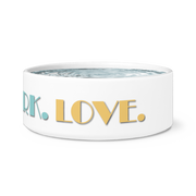 Eat Bark Love Dog Bowl