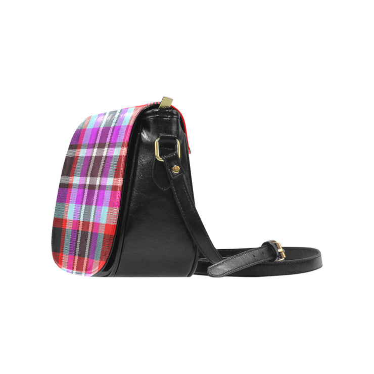 Plaid Classic Saddle Bag