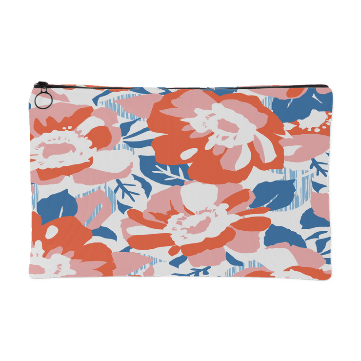 Orange Essence Carry All Pouch | Small Accessory Pouch | Handbag/Clutch | JacksonsRunaway