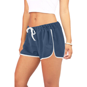Blue Women's Relaxed Shorts |  | Activewear | JacksonsRunaway