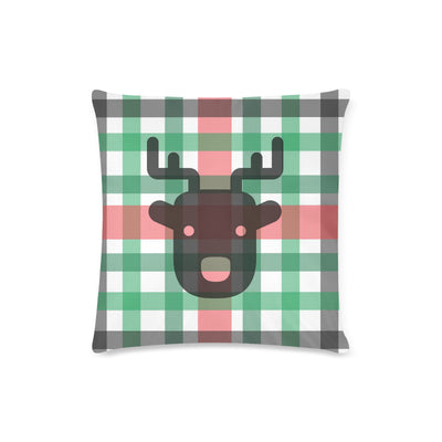 Reindeer Decorative Zippered Pillow Case