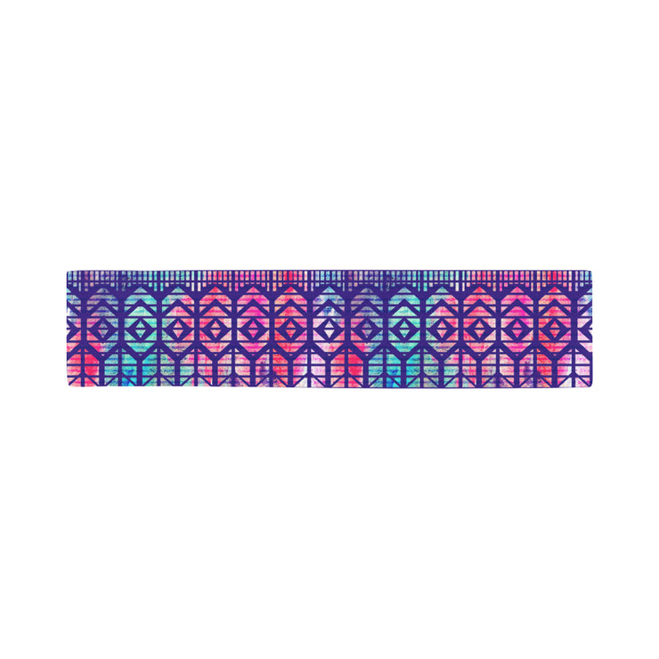 Colorful Printed Women Sports Headband