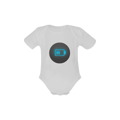 Battery Baby Short Sleeve One Piece