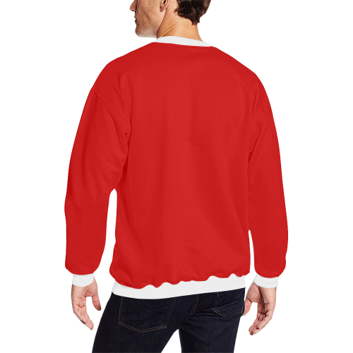 Holiday Men's Oversized Fleece Crew Sweatshirt
