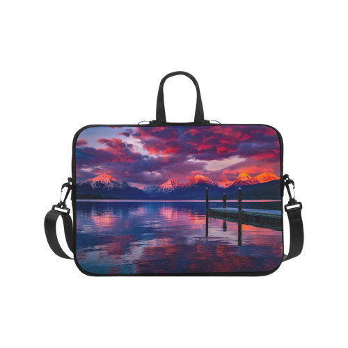 "Colorful Sky Laptop Bag 17"" on Jacksonsrunaway"