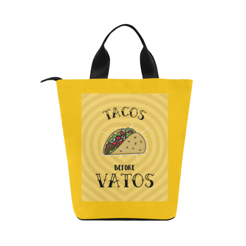 Tacos Before Boys Nylon Lunch Tote Bag