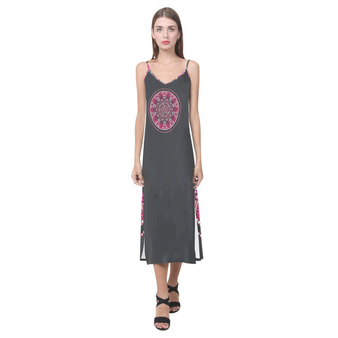 Dream Catcher V-Neck Dress