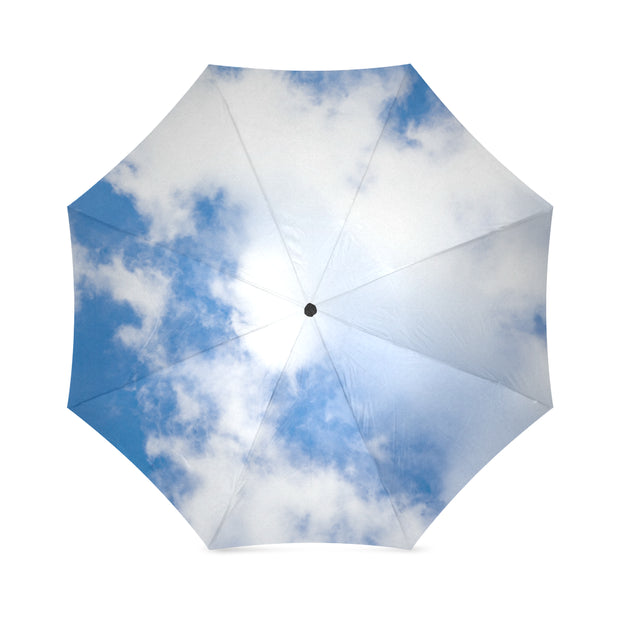 Up In Clouds Foldable Umbrella