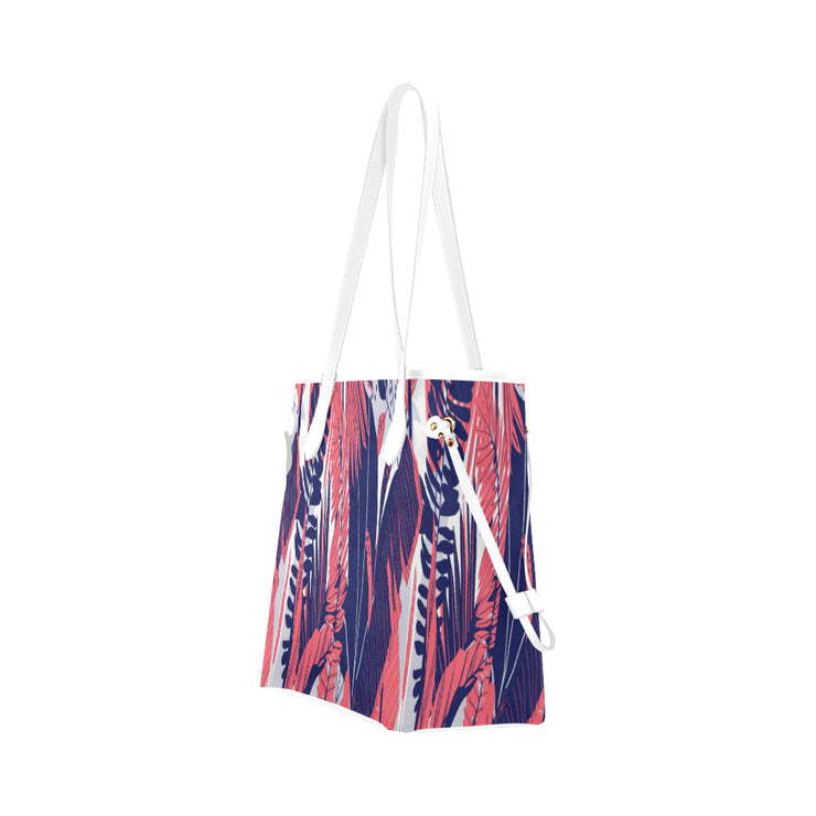 Palm Canvas Tote Bag