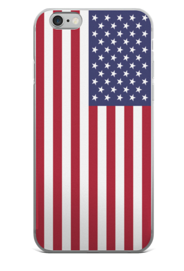 American Flag iPhone Hard Shell Full Protective Case   jacksons runaway.myshopify.com