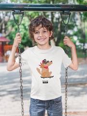 Bad to the Bone Kids T-shirt |  | Children's T-Shirt | JacksonsRunaway