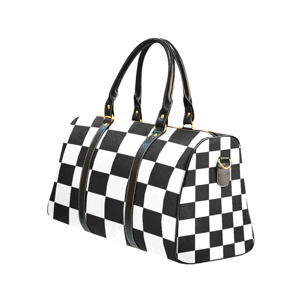 Checkers Waterproof Travel Bag | One Size | Waterproof Travel Bags (1639) | JacksonsRunaway