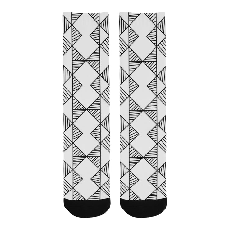 Diamond Trouser Socks