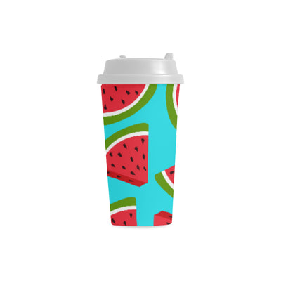 Watermelon Double Wall Plastic Mug