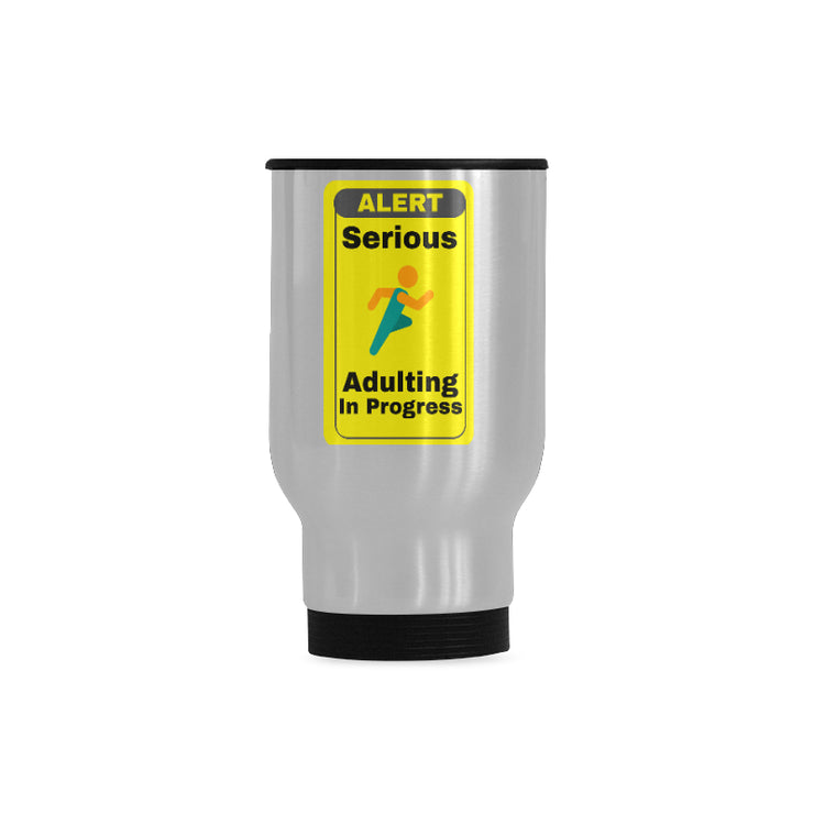 Adulting Mug Travel Mug | One Size | Drinkware | JacksonsRunaway