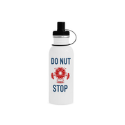 Do Nut Stop Sports Bottle (22 OZ) | 22oz / White | Drinkware | JacksonsRunaway