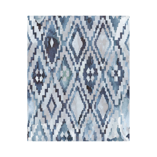 "Ikat Dreams Duvet Cover 86""x70"""