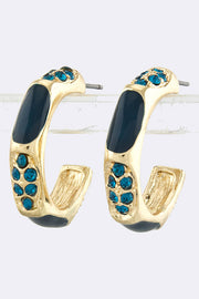 Essential Brilliance Statement Hoop Earrings - Jacksons Runaway