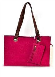 Evelyn Shoulder Bag | Fuchsia | Handbag/Clutch | JacksonsRunaway