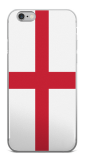 Flag of England Protective iPhone Case (For all iPhone All Models) | England / iPhone X/XS / Red/White | iPhone Accessories | JacksonsRunaway