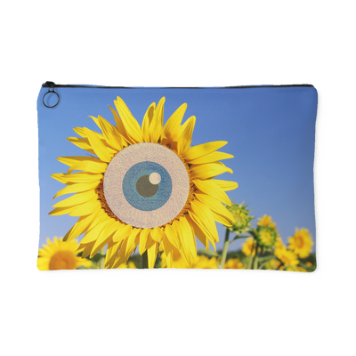 Eye of the Sun Carry All Pouch | Large Accessory Pouch | Accessories | JacksonsRunaway