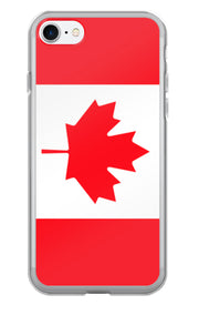 Flag of Canada Protective iPhone Case (For all iPhone 5,6,7 Models) | iPhone 7 | Mobile Phone Cases | JacksonsRunaway