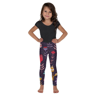Flower Girl Children's leggings |  | Activewear | JacksonsRunaway
