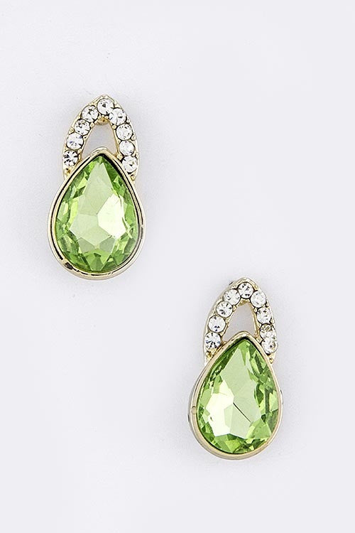 Good As Noveau Statement Earrings - Green | JacksonsRunaway