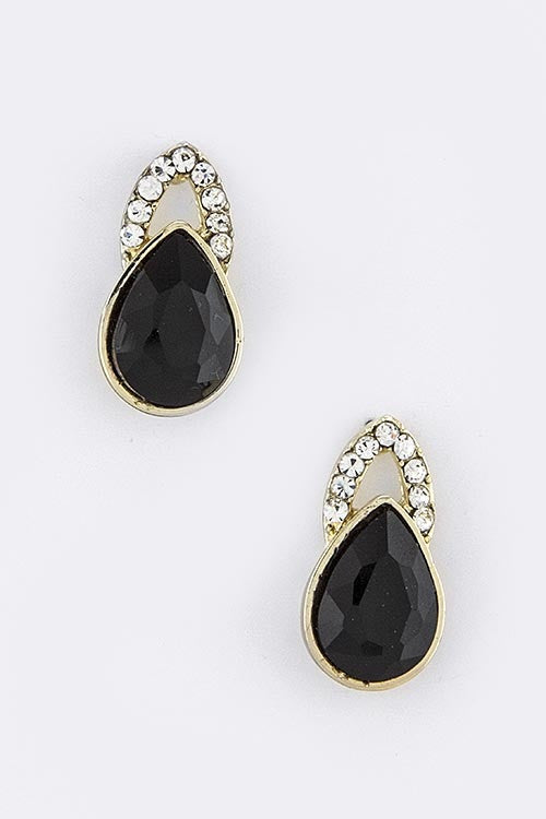 Good As Noveau Statement Earrings - Black | JacksonsRunaway