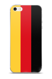 Flag of Germany Protective iPhone Case (For all iPhone Models) | Germany / iPhone X/XS / Black/Red/Gold | Cellphone Accessories | JacksonsRunaway