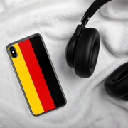 Flag of Germany Protective iPhone Case (For all iPhone Models) | Germany / iPhone XS Max / Black/Red/Gold | Cellphone Accessories | JacksonsRunaway