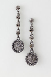 Have A Ball Drop Earrings - Black | JacksonsRunaway