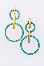 Double Pleasure Statement Earrings - Jacksons Runaway